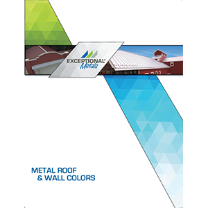 Commercial Metal Roofing Color Chart | EXCEPTIONAL Metals